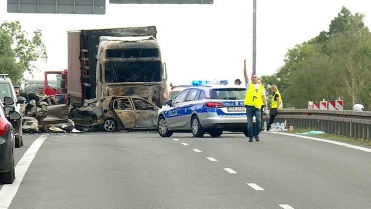 W karambolu pod Szczecinem zginęło sześć osób. Jest wyrok dla kierowcy tira