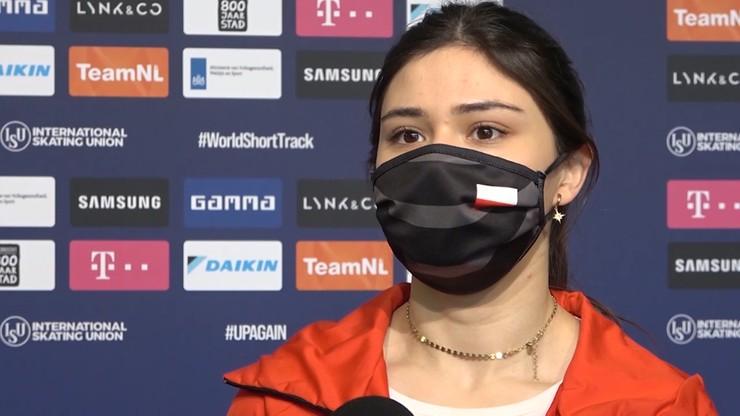 MŚ w short tracku: Triumf Suzanne Schulting na 500 m. Nikola Mazur na ósmym miejscu