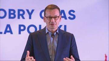 Morawiecki: w końcu mamy system, który wspiera polskich przedsiębiorców, produkty i usługi
