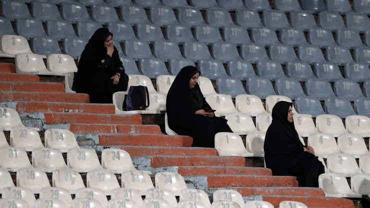 Na największym stadionie w Iranie zagrają... kobiety