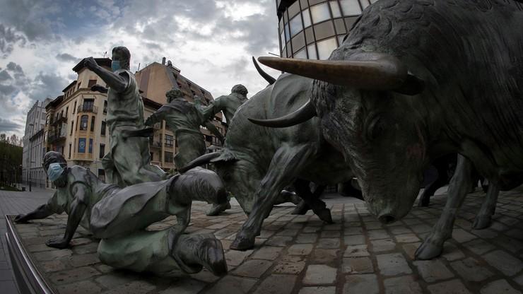Pampeluna zawiesza gonitwy byków