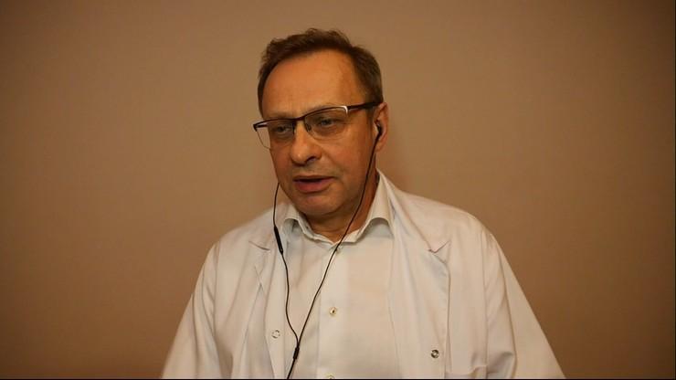"""Dr Włodzimierz Bodnar w """"Gościu Wydarzeń"""": minister zdrowia eksperymentuje na ludziach"""