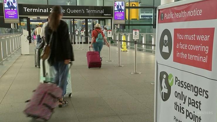 Wielka Brytania. Uproszczone zasady wjazdu do kraju od 4 października