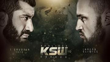 KSW 46: Wielki rewanż Khalidov vs Narkun w Cyfrowym Polsacie i IPLI