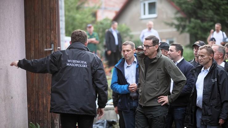 Kraków. Po weekendowych nawałnicach zebrał się sztab kryzysowy z udziałem premiera