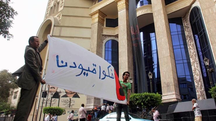 Egipt zwiększa kontrole mediów. Wyciekły tajne instrukcje MSW
