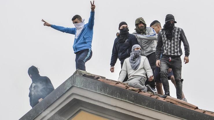 Włochy: bunty w więzieniach. Osadzeni nie chcą ograniczeń wprowadzanych z powodu koronawirusa