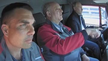 Putin za kierownicą ciężarówki. Otworzył most na Krym