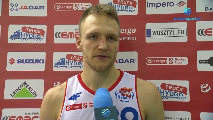 Filip Zegzuła: Nie możemy złapać swojego rytmu w meczach domowych