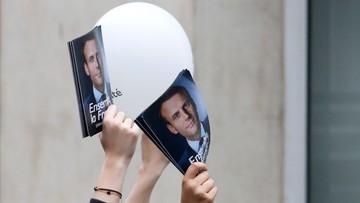 Francja: po podliczeniu 82 proc. głosów Macron zdobył 64,01 proc., a Le Pen 35,99 proc.