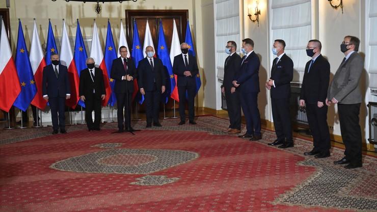 Rekonstrukcja rządu. Premier ogłosił nazwiska nowych ministrów [CAŁE WYSTĄPIENIE]