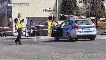 Radiowóz utknął na przejeździe kolejowym. Policjant dostał mandat, ale sprawa może trafić do sądu
