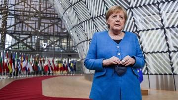 Merkel: tłumaczenia ws. przymusowego lądowania samolotu Ryanaira są niewiarygodne