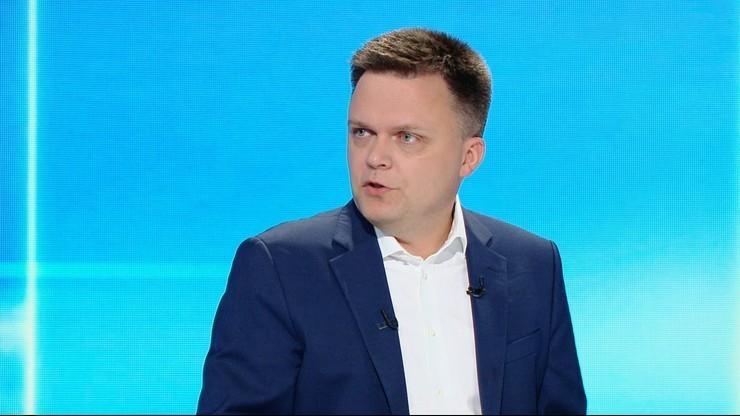 Sondaż partyjny. PiS na pierwszym miejscu, spadek Polski 2050 Szymona Hołowni