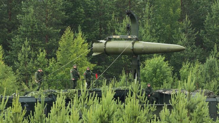 """Rosjanie testowali rakietę Iskander- M. """"Skutecznie zaatakowała cel"""""""