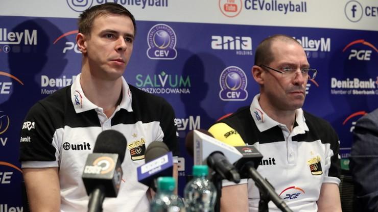 Trener PGE Skry Bełchatów: Mamy taki sam cel jak Cucine Lube Civitanova