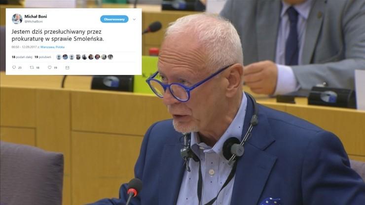 Prokuratura przesłuchuje Boniego ws. Smoleńska