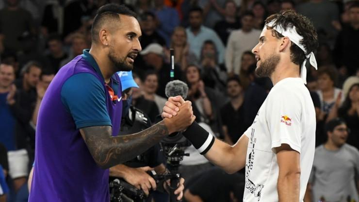 """Australian Open: Thiem wygrał z Kyrgiosem. To była """"ucieczka spod noża"""""""