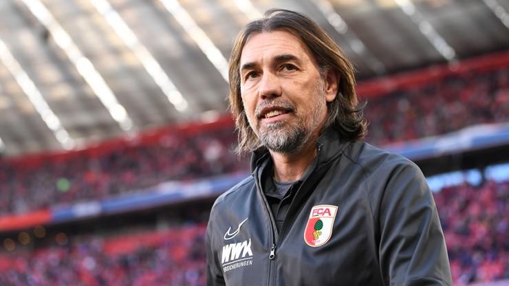Augsburg zwolnił trenera Schmidta