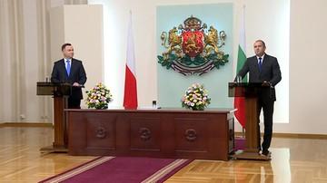 Prezydent podczas wizyty w Bułgarii apeluje o przywrócenie ładu i deeskalację konfliktu na Ukrainie
