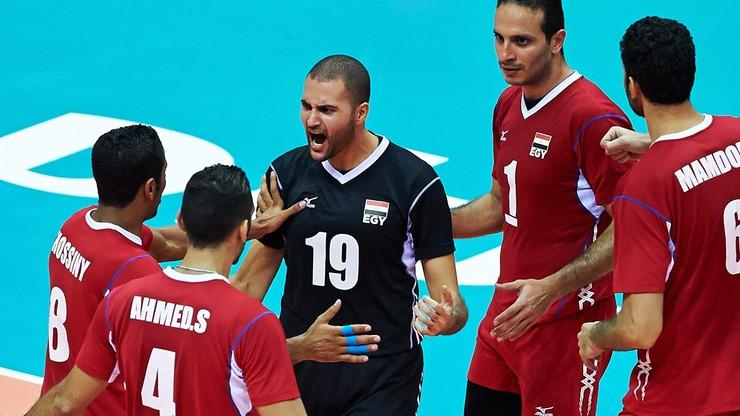 Siatkarze Egiptu wywalczyli kwalifikację do Rio
