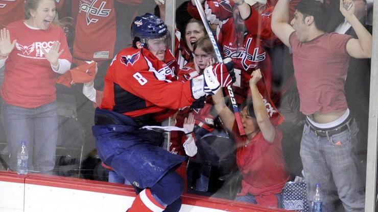 NHL: Owieczkin prawie dogonił Lemieux. 25. hat-trick Rosjanina