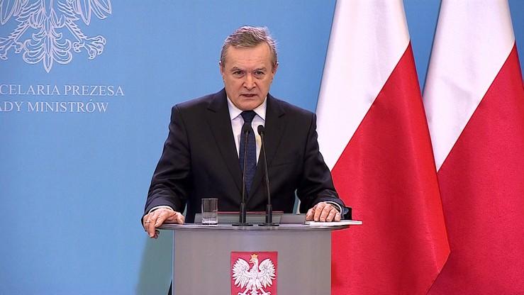 """""""Pełzający zamach stanu""""- Gliński o 16 grudnia w Sejmie"""