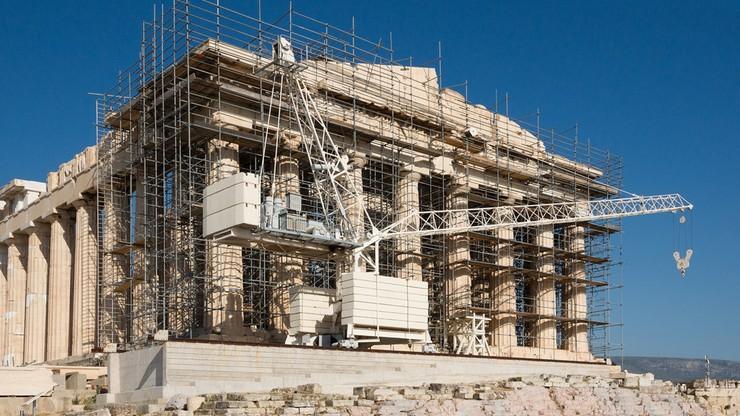 """Remont Akropolu wywołuje protesty. """"Chcą go zmienić w atrakcję turystyczną kosztem zabytku"""""""