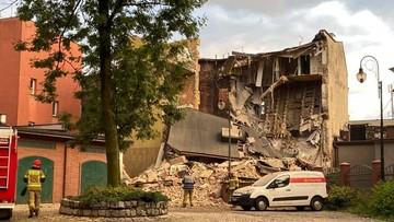 Zawaliła się kamienica w centrum Chorzowa. Koniec akcji poszukiwawczej