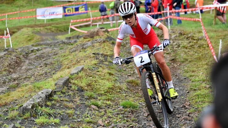 MŚ w kolarstwie górskim: Włoszczowska na 17. miejscu, najsłabiej w karierze