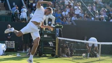 Podsumowanie trzeciego dnia Wimbledonu: ''Jerzyk jest w gazie''
