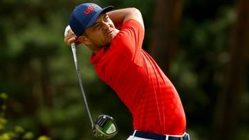 Tokio 2020: Amerykanin na prowadzeniu w turnieju golfa. Meronk daleko