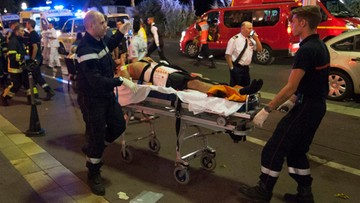 Zamach w Nicei. Nie żyją 84 osoby, wśród ofiar są dzieci
