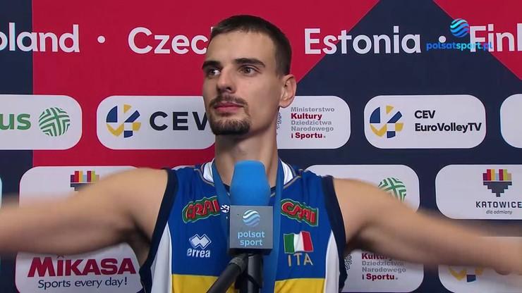 Simone Giannelli wskazał zawodnika, który odmienił grę Włochów w finale ME
