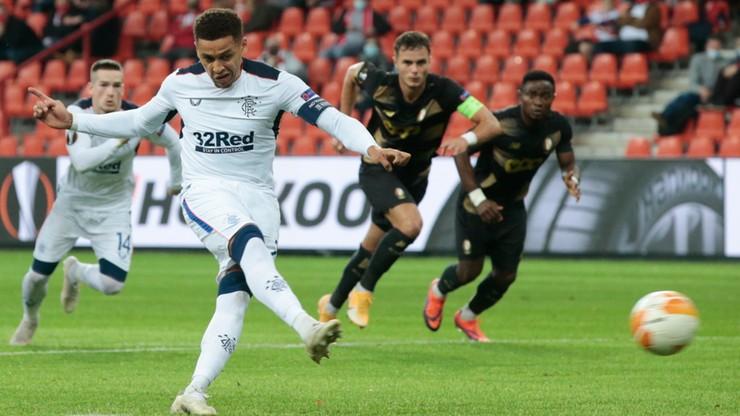 Liga Europy: Rangers FC górą w starciu grupowych rywali Lecha