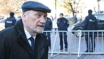 Macierewicz: przy sprawie Skripala Polska mogła mówić o katastrofie smoleńskiej