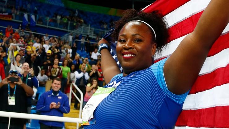 Rio 2016: Carter zdobyła złoty medal w pchnięciu kulą