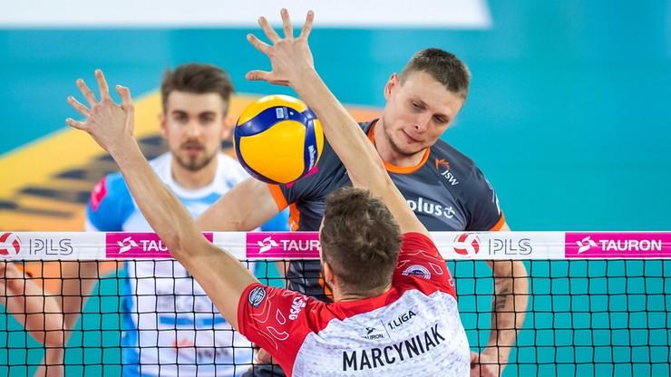 Jednostronne starcie wiceliderów. Jastrzębski Węgiel zagra w Final Four Pucharu Polski