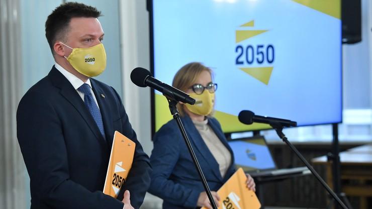Polska 2050 przedstawia swój plan walki z trzecią falą pandemii. Chcą stanu klęski żywiołowej