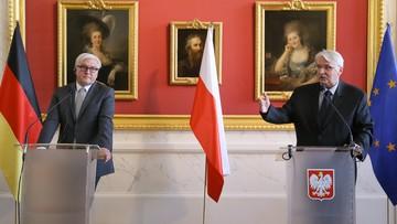 Waszczykowski: stosunki polsko-niemieckie są intensywne, szczere i oparte na solidnych fundamentach