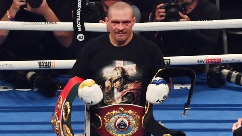 Oleksandr Usyk: Walka potoczyła się dokładnie tak, jak się spodziewałem
