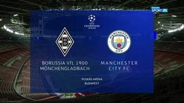 Borussia Moenchengladbach - Manchester City 0:2. Skrót meczu