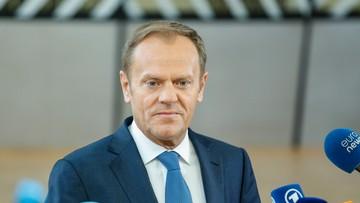 Zawiadomienie ws. znieważenia Tuska przez Szonert-Biniendę. Wniosek skierował mec. Giertych