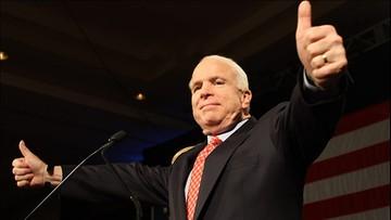 Chory na nowotwór McCain chce wziąć udział w debacie na temat Obamacare