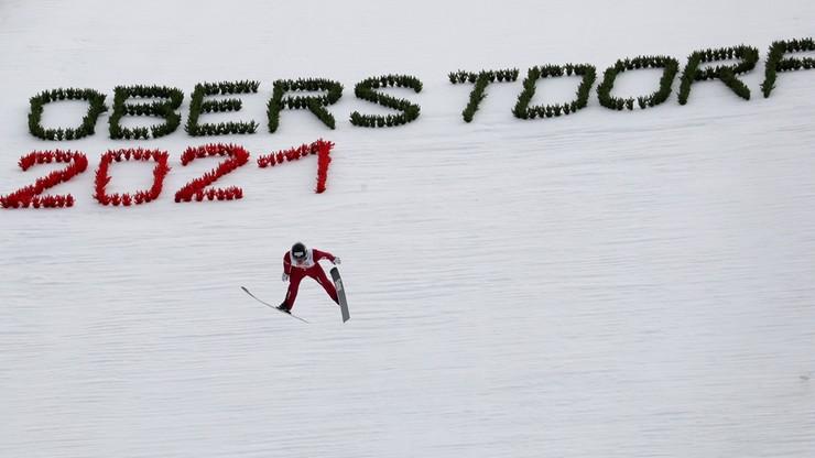 MŚ Oberstdorf 2021: Szczepan Kupczak i Andrzej Szczechowicz na 9. miejscu po skokach w sprincie drużynowym
