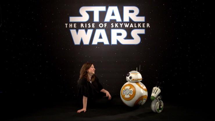 """""""Gwiezdne Wojny: Skywalker. Odrodzenie"""" Reporterka Polsat News rozmawiała z... droidami"""