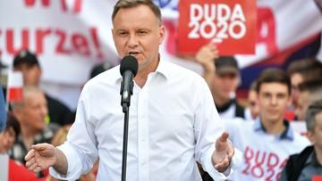 Duda: Niemcy chcą wybierać w Polsce prezydenta