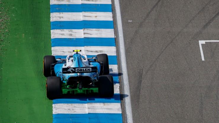 GP Niemiec: Leclerc znów najszybszy na treningu, Kubica przedostatni