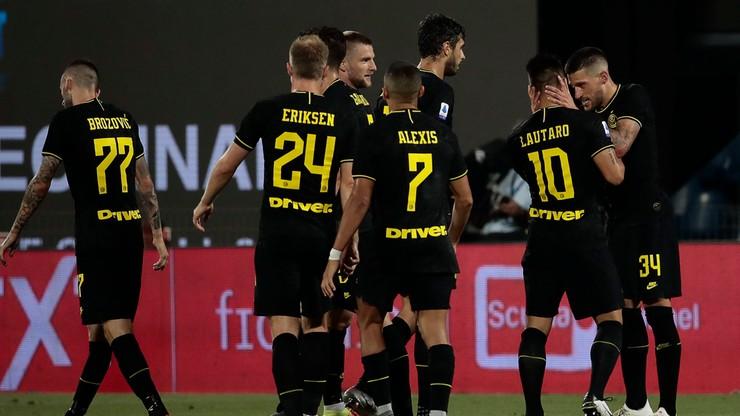 Serie A: Wygrana i awans Interu na drugie miejsce