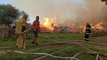 Prokuratura wszczęła śledztwo w sprawie pożaru w Nowej Białej